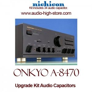 Onkyo A-8470 Upgrade Kit Audio Capacitors