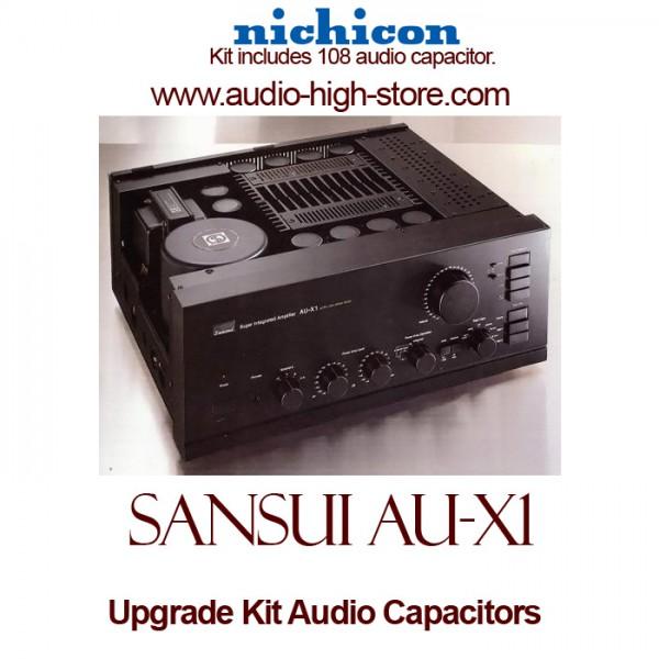 Sansui AU-X1 Upgrade Kit Audio Capacitors