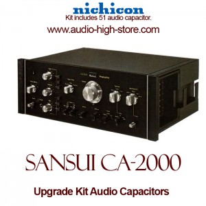 Sansui CA-2000 Upgrade Kit Audio Capacitors