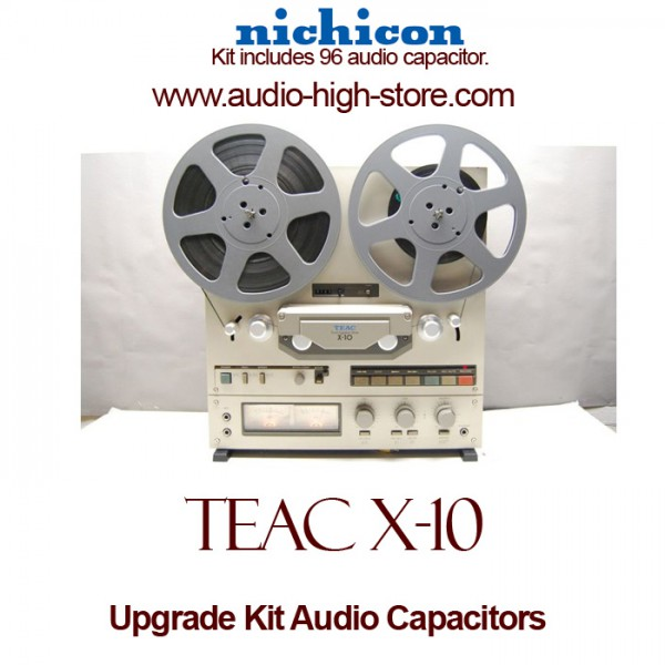 TEAC X-10 Upgrade Kit Audio Capacitors