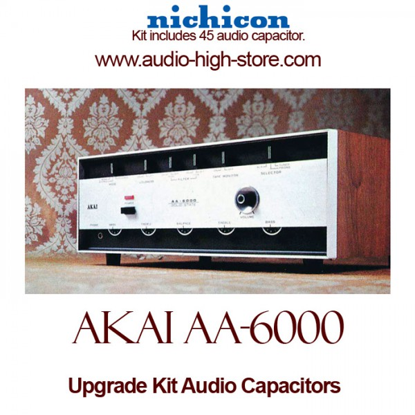 Akai AA-6000 Upgrade Kit Audio Capacitors