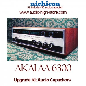 Akai AA-6300 Upgrade Kit Audio Capacitors
