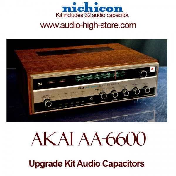 Akai AA-6600 Upgrade Kit Audio Capacitors
