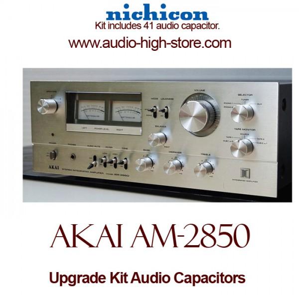 Akai AM-2850 Upgrade Kit Audio Capacitors