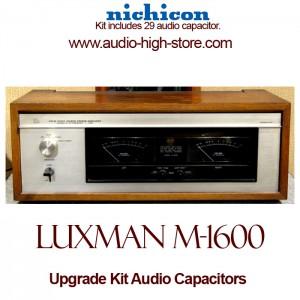 Luxman M-1600 Upgrade Kit Audio Capacitors