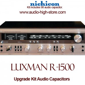 Luxman R-1500 Upgrade Kit Audio Capacitors