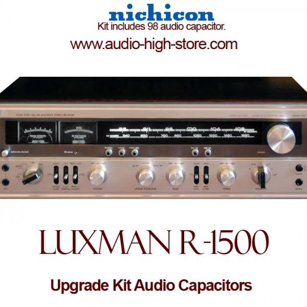 Luxman R-1500 Upgrade Kit Audio Capacitors