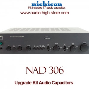 NAD 306 Upgrade Kit Audio Capacitors