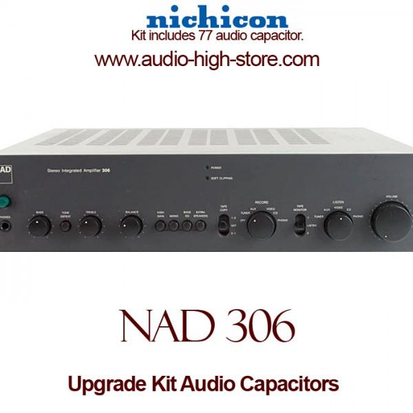 NAD 306 Upgrade Kit Audio Capacitors