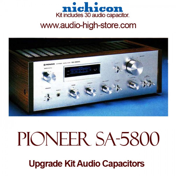 Pioneer SA-5800 Upgrade Kit Audio Capacitors