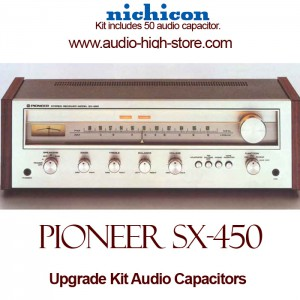 Pioneer SX-450 Upgrade Kit Audio Capacitors