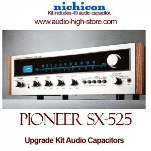 Pioneer SX-525 Upgrade Kit Audio Capacitors