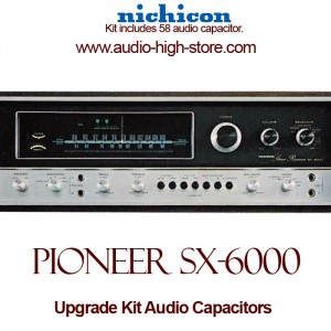 Pioneer SX-6000 Upgrade Kit Audio Capacitors