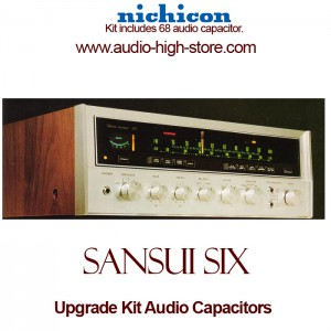 Sansui Six Upgrade Kit Audio Capacitors