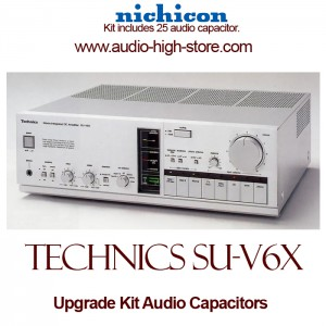 Technics SU-V6X Upgrade Kit Audio Capacitors