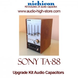 Sony TA-88 Upgrade Kit Audio Capacitors