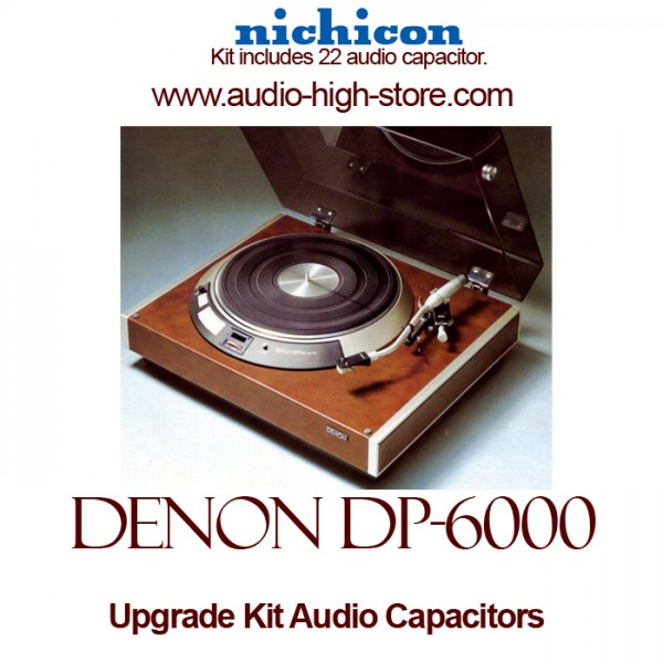 Denon DP-6000 Upgrade Kit Audio Capacitors