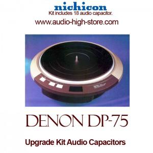 Denon DP-75 Upgrade Kit Audio Capacitors