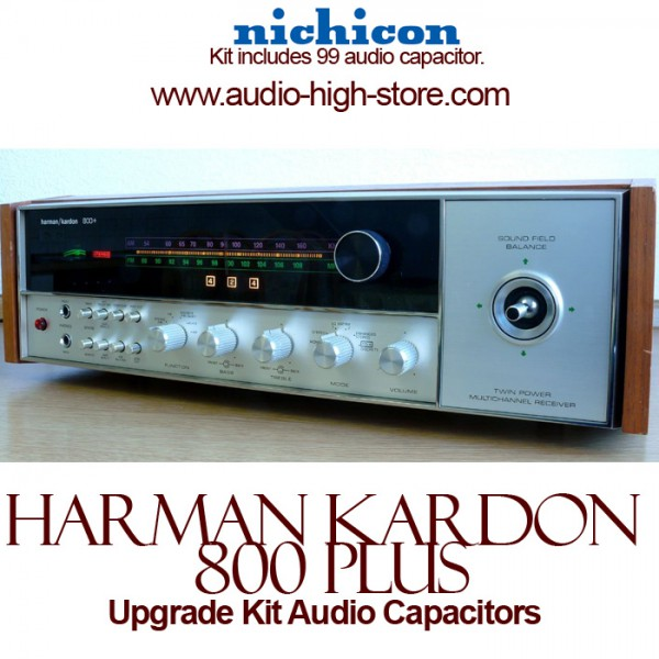 Harman Kardon 800 Plus Upgrade Kit Audio Capacitors