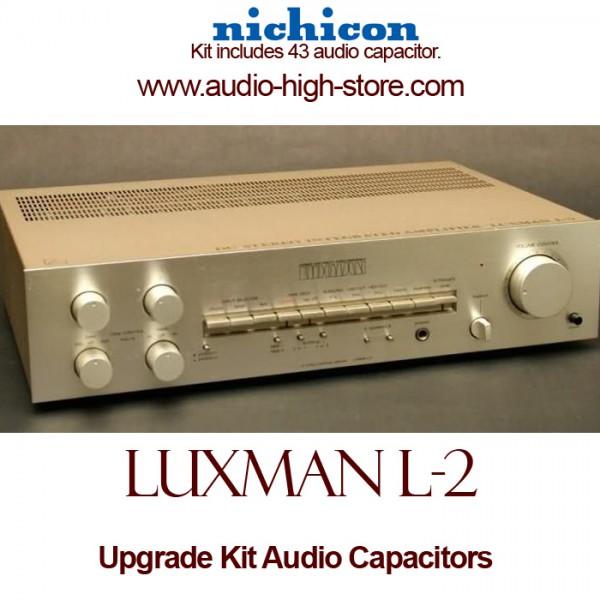 Luxman L-2 Upgrade Kit Audio Capacitors