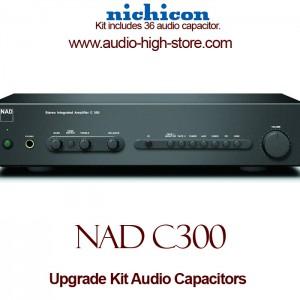 NAD C300 Upgrade Kit Audio Capacitors