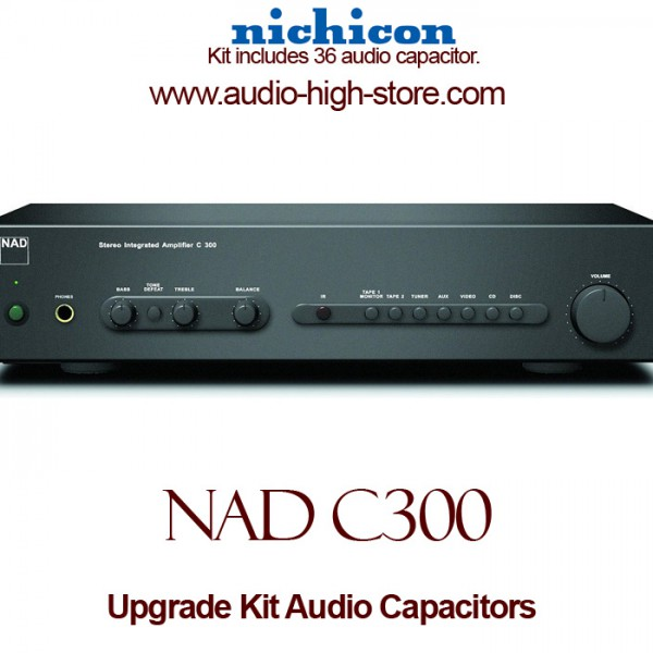 NAD C300 Upgrade Kit Audio Capacitors