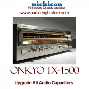 Onkyo TX-4500 Upgrade Kit Audio Capacitors