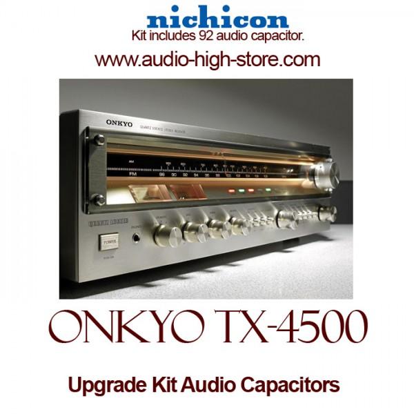 Onkyo TX-4500 Upgrade Kit Audio Capacitors