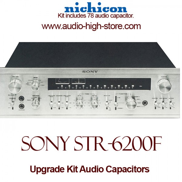 Sony STR-6200F Upgrade Kit Audio Capacitors