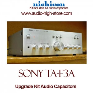 Sony TA-F3A Upgrade Kit Audio Capacitors