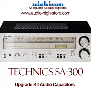 Technics SA-300 Upgrade Kit Audio Capacitors