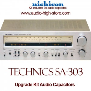 Technics SA-303 Upgrade Kit Audio Capacitors