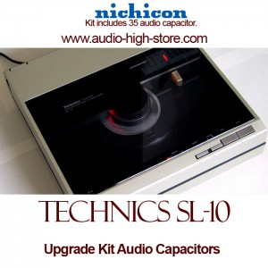 Technics SL-10 Upgrade Kit Audio Capacitors