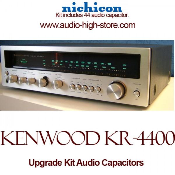 Kenwood KR-4400 Upgrade Kit Audio Capacitors
