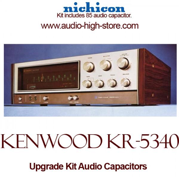 Kenwood KR-5340 Upgrade Kit Audio Capacitors