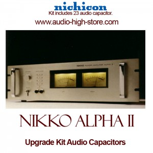 Nikko Alpha II Upgrade Kit Audio Capacitors