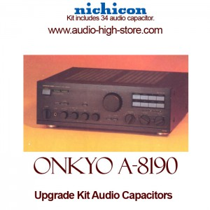Onkyo A-8190 Upgrade Kit Audio Capacitors