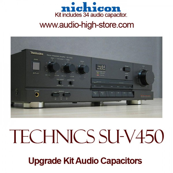 Technics SU-V450 Upgrade Kit Audio Capacitors