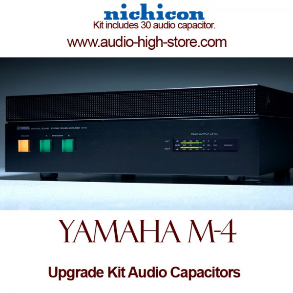 Yamaha M-4 Upgrade Kit Audio Capacitors