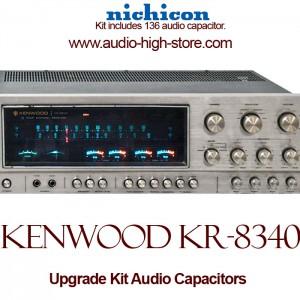 Kenwood KR-8340 Upgrade Kit Audio Capacitors