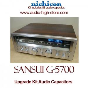 Sansui G-5700 Upgrade Kit Audio Capacitors