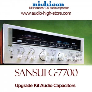 Sansui G-7700 Upgrade Kit Audio Capacitors