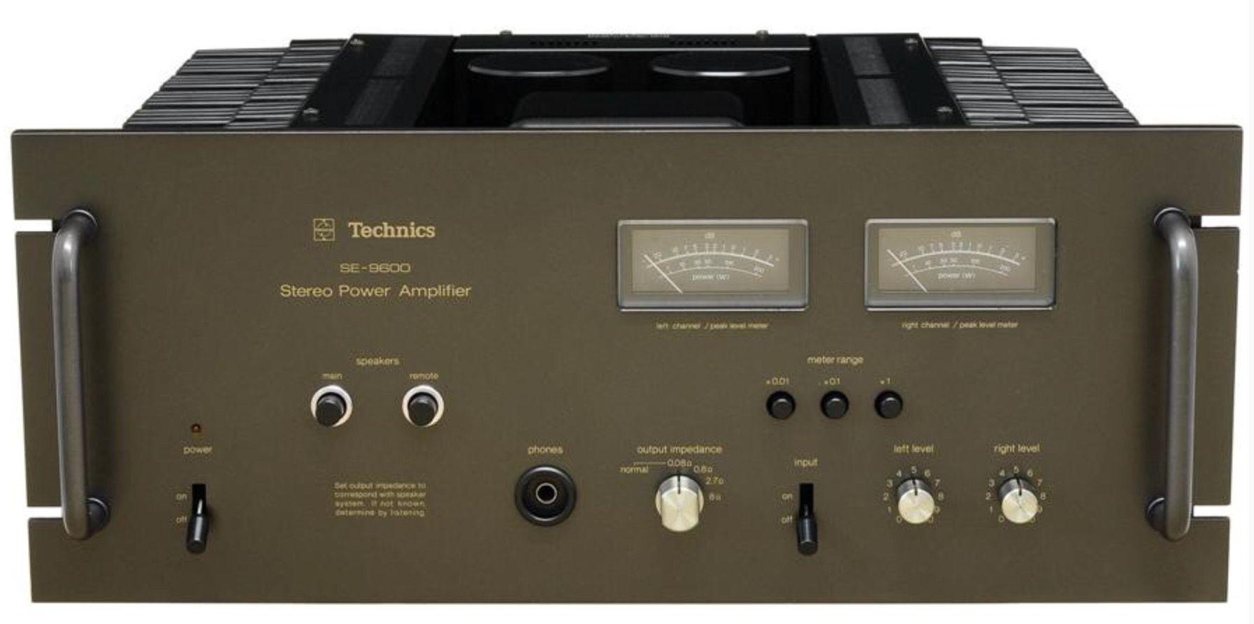 Technics SE-9600 Power Amplifiers