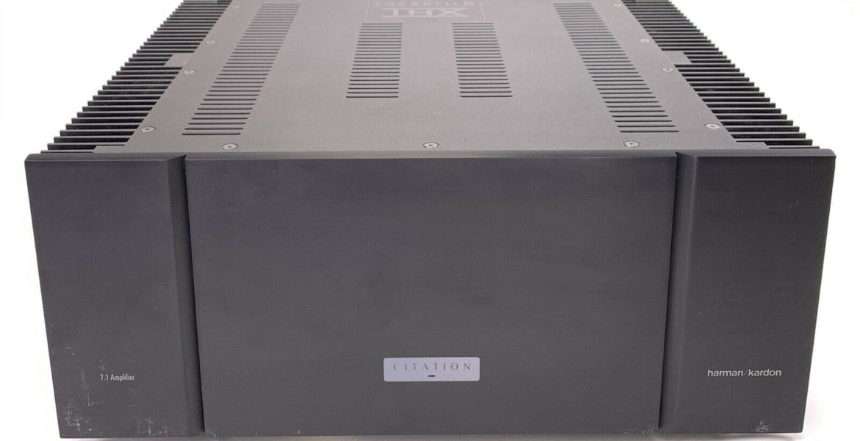 Harman Kardon Citation 7 1 Power Amplifiers