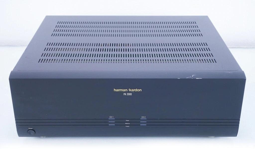 Harman Kardon Pa2000 Power Amplifiers
