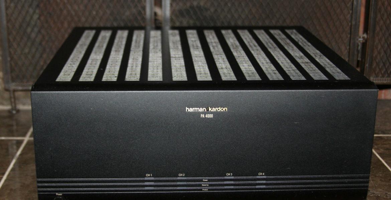 Harman Kardon Pa4000 Power Amplifiers